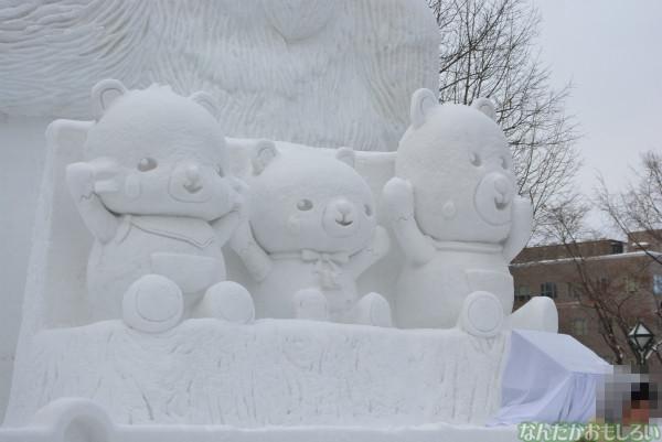 『SNOW MIKU 2014』西11丁目会場の雪ミク雪像や物販の様子などなど_0161