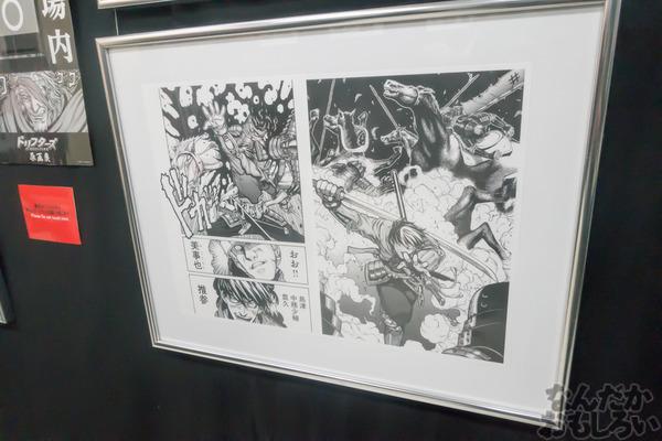 生原稿な模造刀、グッズ販売も「ドリフターズ原画展」秋葉原で開催!02558