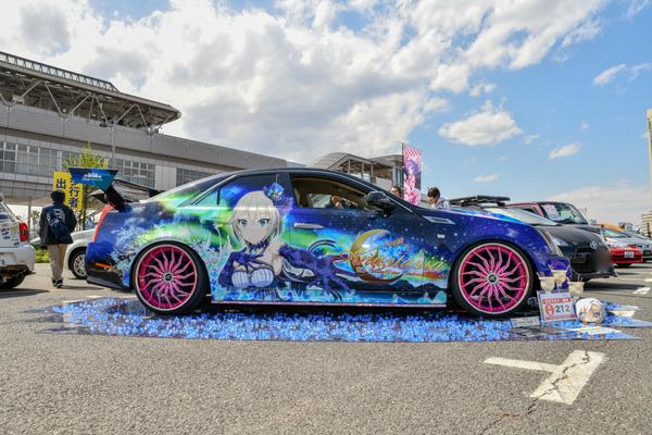 『痛車天国2018』765プロ、346プロのアイドルが集結!「アイドルマスター」シリーズ痛車レポート-58