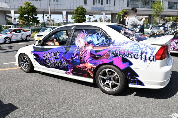 『痛車天国2018』ガルパブーム到来!大集結した「バンドリ!ガールズバンドパーティ!」痛車をレポート 人気はロゼリア、Poppin'Party-5