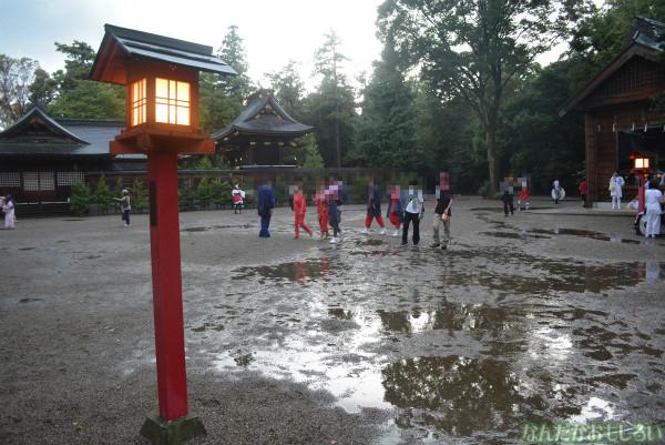 『鷲宮 土師祭2013』ゲリラ雷雨の様子_0678
