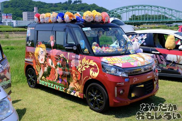 『第13回足利ひめたま祭』「ラブライブ!」シリーズ痛車まとめ5365