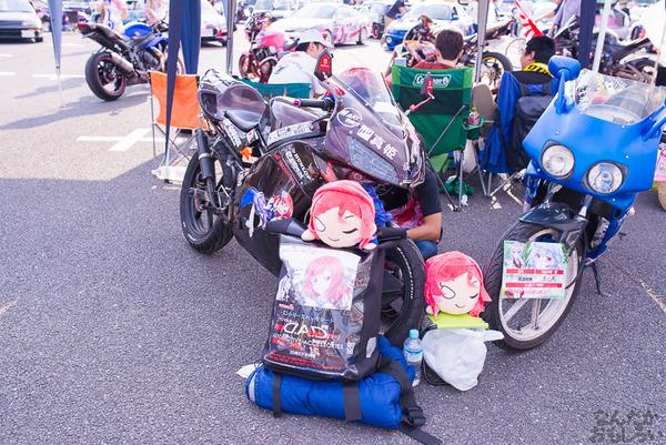 『痛Gふぇすたinお台場2015』痛いバイクもたくさん集結!痛単車まとめ ラブライブ!多め、ミク痛単車とミクレイヤーさんの合わせも_2512