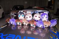 秋葉原UDX駐車場のアイドルマスター・デレマス痛車オフ会の写真画像_6582
