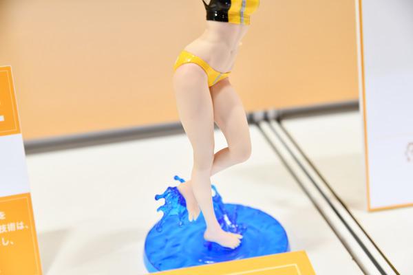 『第57回静岡ホビーショー』ガチでヤバイ肌の質感!バンダイ「Figure-riseLABO ホシノ・フミナ」をたっぷりと写真でレポート-17