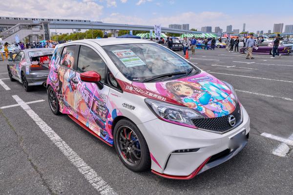 『痛車天国2018』765プロ、346プロのアイドルが集結!「アイドルマスター」シリーズ痛車レポート-48