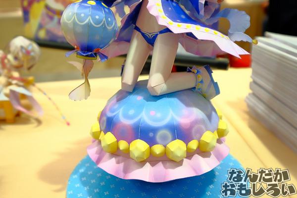 『白猫プロジェクト』香港のペーパークラフトサークルが台湾で出した「蒼い海の少女ノア」「100億の少女ティナ」のクオリティが異常!4036