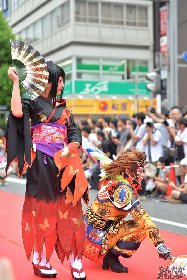 26カ国参加!『世界コスプレサミット2014』各国代表のレイヤーさんが名古屋市内をパレード_0275