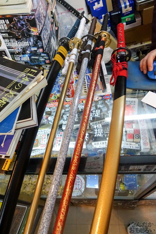 刀剣などを扱う秋葉原で有名な武器防具屋『武装商店』のフォトレポート_00954
