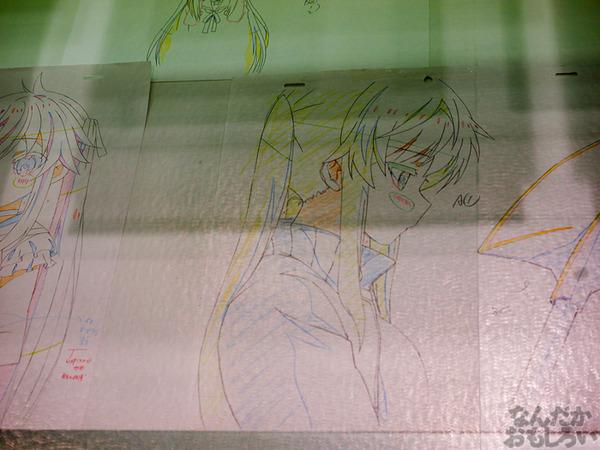 TVアニメ『がっこうぐらし!』展が秋葉原で開催 笑顔・絶望顔など貴重な生原画、缶詰、サイン入りシャベルなどたくさん展示!0073