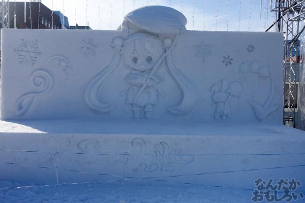 『第66回さっぽろ雪まつり』「SNOW MIKU」「ラブライブ!」「ガルパン」雪像&物販ブースの様子を写真画像でお届け_01433