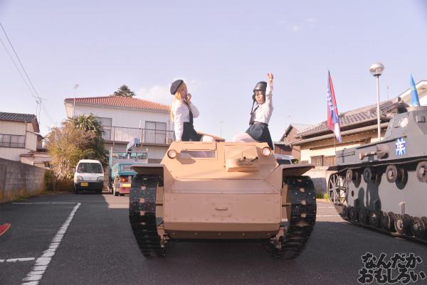 ガルパン痛車や実物大戦車模型をバッグにレイヤーさんを撮影!『第18回大洗あんこう祭』コスプレフォトレポート_9970