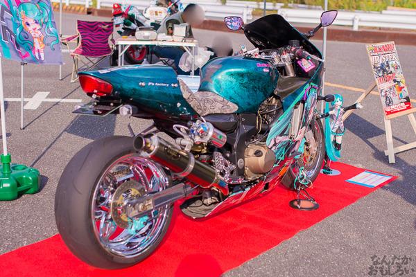 『痛Gふぇすたinお台場2015』痛いバイクもたくさん集結!痛単車まとめ ラブライブ!多め、ミク痛単車とミクレイヤーさんの合わせも_2477