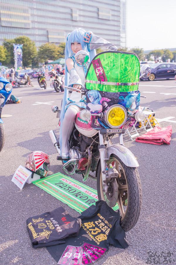 『痛Gふぇすたinお台場2015』痛いバイクもたくさん集結!痛単車まとめ ラブライブ!多め、ミク痛単車とミクレイヤーさんの合わせも_2515
