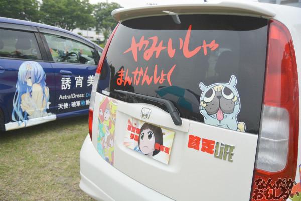 『第7回館林痛車ミーティング』比較的新しいアニメ作品の痛車・痛単車フォトレポート 画像_0668
