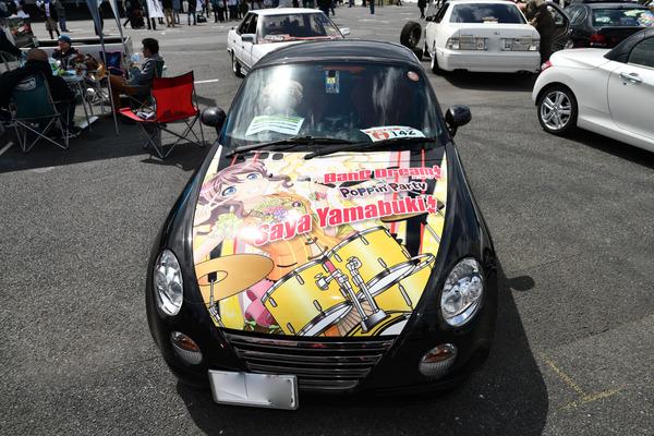 『痛車天国2018』ガルパブーム到来!大集結した「バンドリ!ガールズバンドパーティ!」痛車をレポート 人気はロゼリア、Poppin'Party-34