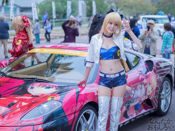 『マチアソビvol.15』武内崇さん描き下ろし痛車「Fateシリーズ」仕様のフェラーリ展示!ハイクオリティな超高級痛車を撮影してきた0016