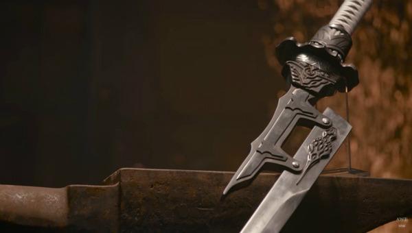 『ニーア オートマタ』海外の鍛冶職人、大型剣「白の約定」をリアルに制作!_073144
