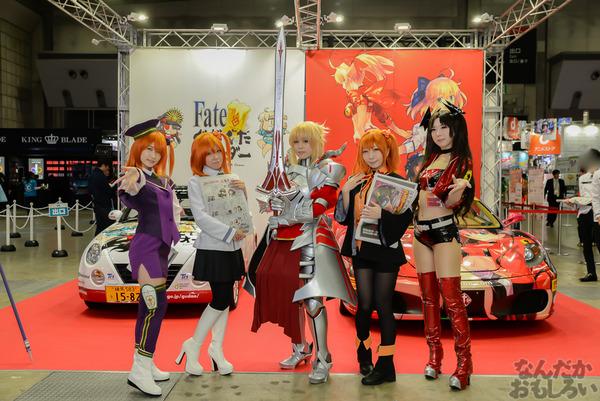 『AnimeJapan 2016』ぐだぐだオーダー痛車にレイヤー合わせも!FGOブース、プラスワンブースをお届け
