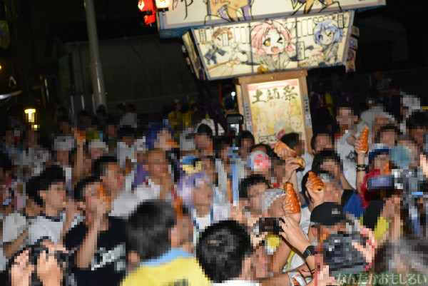 『鷲宮 土師祭2013』らき☆すた神輿_0828
