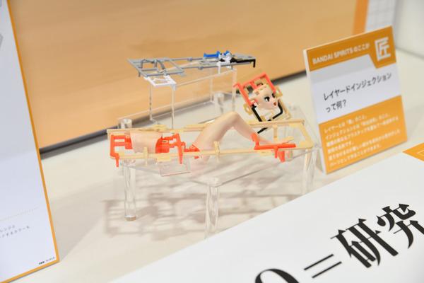 『第57回静岡ホビーショー』ガチでヤバイ肌の質感!バンダイ「Figure-riseLABO ホシノ・フミナ」をたっぷりと写真でレポート-19