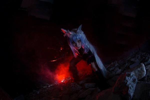 『Fate/Apocrypha』香港コスプレイヤーによる赤のアーチャー&ライダー2