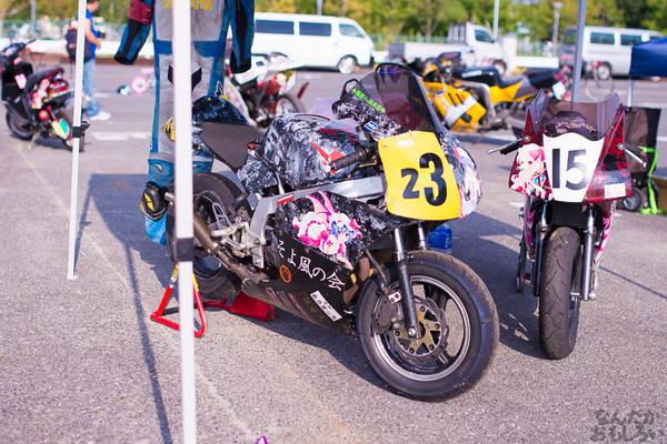 『痛Gふぇすたinお台場2015』痛いバイクもたくさん集結!痛単車まとめ ラブライブ!多め、ミク痛単車とミクレイヤーさんの合わせも_2489