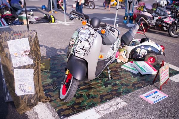 『痛Gふぇすたinお台場2015』痛いバイクもたくさん集結!痛単車まとめ ラブライブ!多め、ミク痛単車とミクレイヤーさんの合わせも_2492