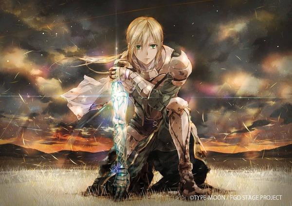 舞台『Fate/Grand Order THE STAGE –神聖円卓領域キャメロット-』ベディヴィエール登場のイメージイラスト第3弾公開 秋公演は9月29日よりスタート