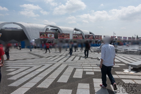 駒沢オリンピック公園で肉の祭典『肉フェス2015春』開催!「食戟のソーマ」「長門有希ちゃんの消失」コラボメニューなど肉をたっぷり堪能してきた!02636