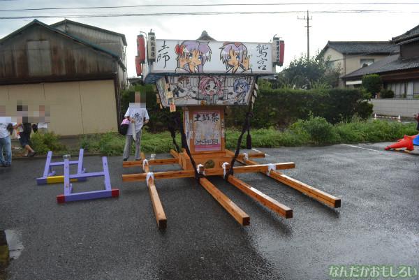 『鷲宮 土師祭2013』ゲリラ雷雨の様子_0669