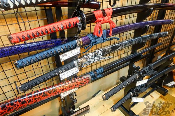 刀剣などを扱う秋葉原で有名な武器防具屋『武装商店』のフォトレポート_00942