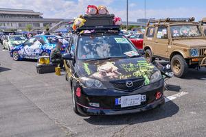 『痛車天国2018』最も多いタイトル…!?大集結した「ラブライブ!」「ラブライブ!サンシャイン!!」痛車を写真たっぷりでお届け-55