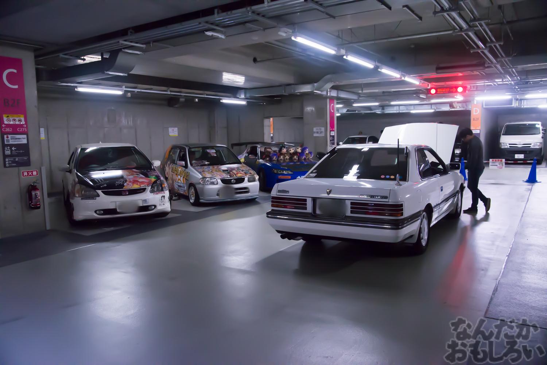 秋葉原UDX駐車場のアイドルマスター・デレマス痛車オフ会の写真画像_6658