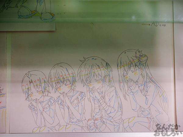 TVアニメ『がっこうぐらし!』展が秋葉原で開催 笑顔・絶望顔など貴重な生原画、缶詰、サイン入りシャベルなどたくさん展示!0054