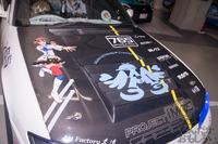 秋葉原UDX駐車場のアイドルマスター・デレマス痛車オフ会の写真画像_6509