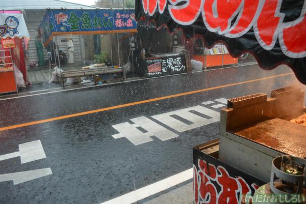 『鷲宮 土師祭2013』ゲリラ雷雨の様子_0682