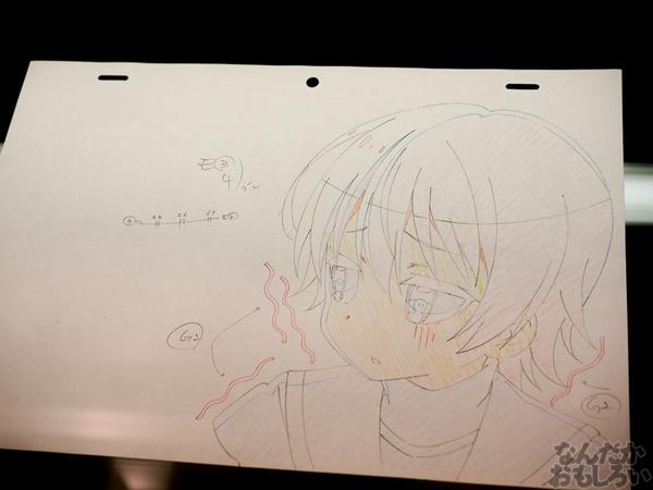TVアニメ『がっこうぐらし!』展が秋葉原で開催 笑顔・絶望顔など貴重な生原画、缶詰、サイン入りシャベルなどたくさん展示!0056
