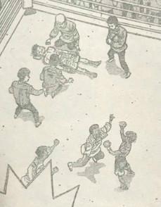 『はじめの一歩』第1203話(ネタバレあり)