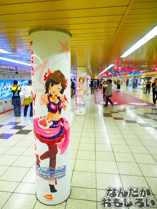 P『デレステ』最終日の新宿広告ジャックの様子をレポート!0040