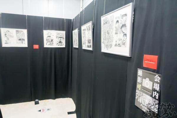 生原稿な模造刀、グッズ販売も「ドリフターズ原画展」秋葉原で開催!02553