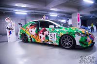 秋葉原UDX駐車場のアイドルマスター・デレマス痛車オフ会の写真画像_6610