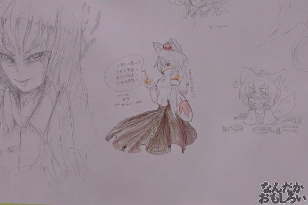 『博麗神社秋季例大祭』様々な「東方Project」キャラが描かれたラクガキコーナーを紹介_1255