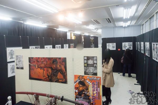 生原稿な模造刀、グッズ販売も「ドリフターズ原画展」秋葉原で開催!02548