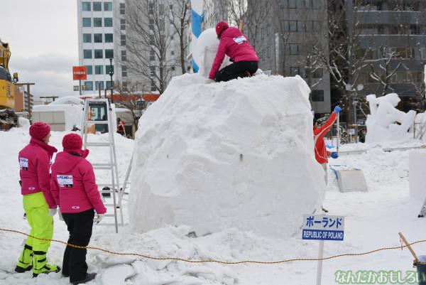 『SNOW MIKU 2014』西11丁目会場の雪ミク雪像や物販の様子などなど_0153