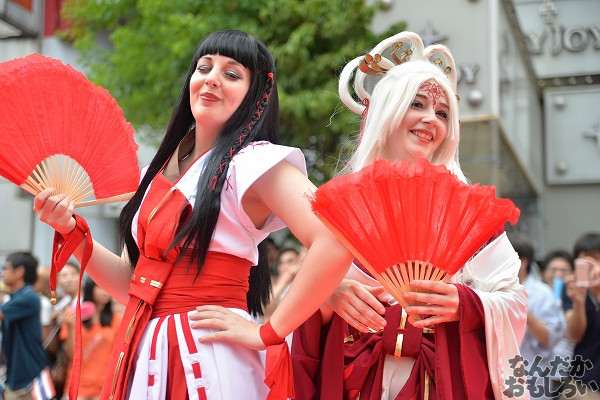 26カ国参加!『世界コスプレサミット2014』各国代表のレイヤーさんが名古屋市内をパレード_0236