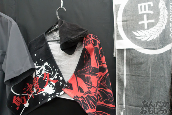 生原稿な模造刀、グッズ販売も「ドリフターズ原画展」秋葉原で開催!02562