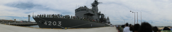 大洗 海開きカーニバル 訓練支援艦「てんりゅう」乗船 - 3753