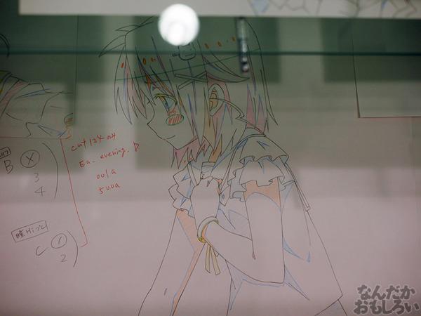 TVアニメ『がっこうぐらし!』展が秋葉原で開催 笑顔・絶望顔など貴重な生原画、缶詰、サイン入りシャベルなどたくさん展示!0081
