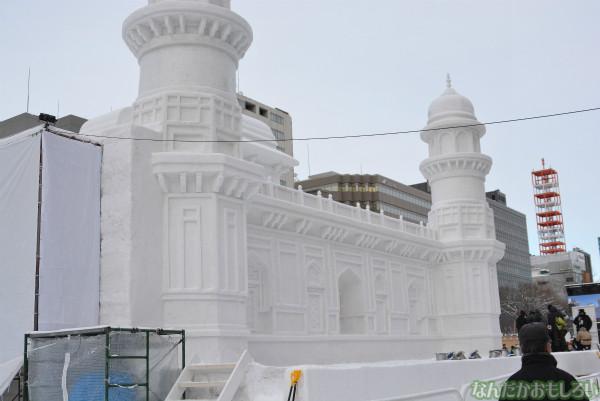 『SNOW MIKU 2014』西11丁目会場の雪ミク雪像や物販の様子などなど_0173